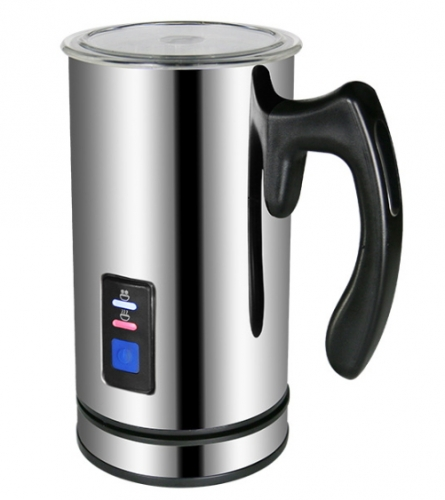500W Automatic Electric Stainless Steel Milk Frother,Milk foamer for Cappuccino or Latte