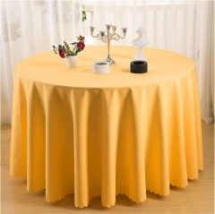Cheap colorful plain dyeing table cloth
