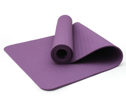 Manufacture customize folding waterproof TPE yoga mat