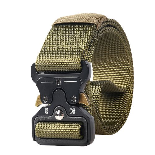 Nylon outdoor molle webbing waist duty belt army military tactical belt