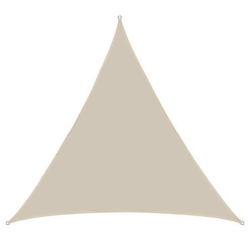 Hi quality triangular square rectangular sunshade sail for for Patio Garden Backyard Pool Autoshop
