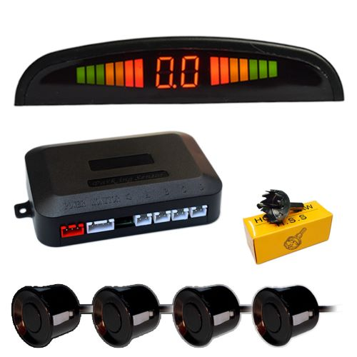 Auto Backup Radar Detector car camera Car Parking Sensor with 4 Sensors