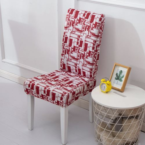 Elastic Pastoral Print Modern Slipcovers Furniture Cover Kitchen Wedding house chair cover